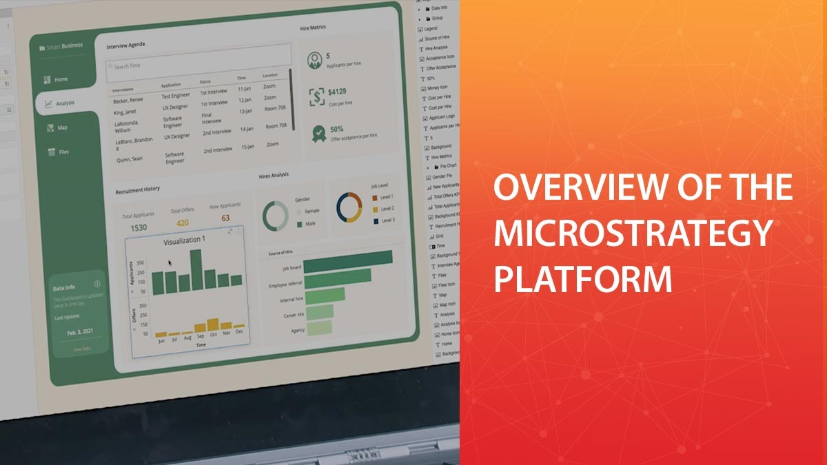 Overview of the MicroStrategy Platform